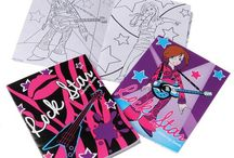 Rock star Theme / Check out our affordable and fun rock star themed items! We carry rings, coloring books, purses and more at an unbeatable price!