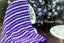 Crochet Throws and Laphgans