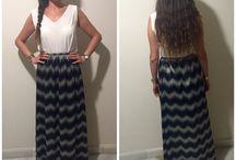 Maxi skirt / Maxi skirt