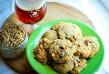 Cooking with Spent Grain / Do you homebrew? Here are a couple of ideas of what you can do with your grain after the mash