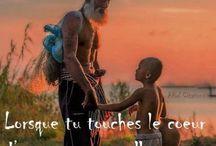 message touchant