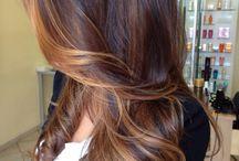 sfumature capelli lunghi