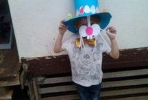 klobouk se zajícem