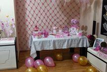 Kuş Konsept doğum günü Meyra Efnan / 2 yaş, rengarenk doğum günü, kuş konsept, pembe, pembe konsept Meyra Efnan