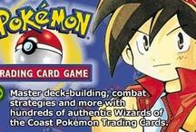 Pokemon TCG GB / A couple of artworks from the Pokemon Trading Card Game, Game Boy version. More info on this game @ http://www.pokemondungeon.com/pokemon-trading-card-game-gbc