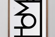 typografia, logot, julisteet