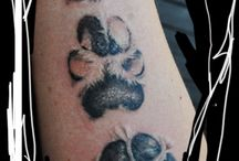 Pootafdruk tatoeages
