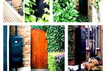 slim wall hung water butts by freeflush / wall hung water butts -space saving