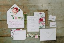 Wedding: invitations etc.