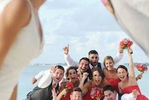 Creative Wedding Group Photography