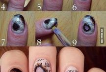 Cool Nails / This bored is just to give you some ideas on how to take your nails to the next level