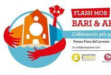 "Events ""Bari & Abbracci"" / #flashmob #corporate #event #hugs #freehugs #music #people #magistroecreativiassociati #selfpromotion"