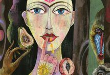 The Creative Feminine / by donnaloiolart