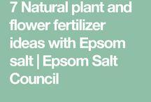 Epsom Salts applications
