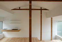 ATTIC / upper floor, roof, sloped ceiling