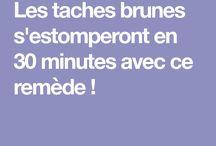 Taches brunes