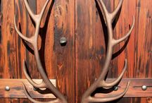 Furniture antler