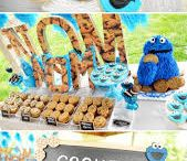 Tylers 1st bday ideas / by Amber Coombs