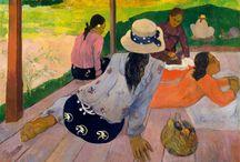 Émile Bernard - Paul Gauguin - Vincent Van Gogh
