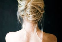 Curated board - Hair up do's