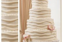 Our Wedding Cakes / A collection of our wedding cakes thru the years.