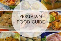 Peruvian foods / Food from Peru