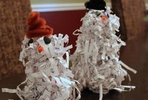 winter projects / by Julie Blackwood Donegan