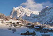 горы-зима