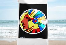 David Strickland Towels / Towels with David Strickland Art
