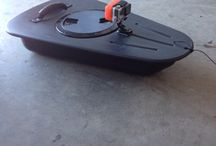 Kayak storage. Towed / Water tight compartment with go pro attached for those important shots