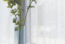 Curtains in a modern interior