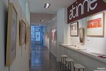 GRABADOS de Nuria Pena / El pasado día 30 de Noviembre de 2012 se inaugura en nuestro espacio (Calle Ángel Rebollo 56-58, bajo) la exposición GRABADOS a cargo de la artista visual Nuria Pena.