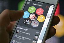 Mobile UX Multicolor