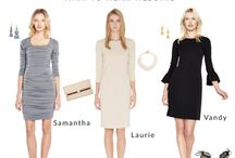 What to Wear: Wedding / Running out of wardrobe options now that wedding season is in full swing? We've pulled together our three favorite looks for the big celebration. Whether a rehearsal dinner or a daytime ceremony, you'll be ready to party in our dresses and glamorous accessories.   http://blog.kimandproper.com/2016/05/11/were-hearing-wedding-bells/