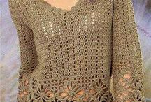 Crochet blouses