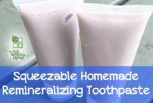 Homemade toothpaste recipes
