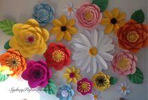 Paper Flowers / Fabulous paper floral Creations