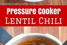 vegetarian pressure cooker meals