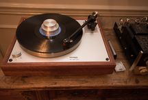 Thorens TD 160 Super Reproduction Turntable / My vintage audio set up.