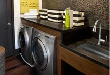 Home: Laundry Spaces / by Kimberly Smith