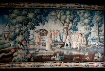 RUGS, TAPESTRY / Tapestry - Tapisserie - Tappezzeria - tappeto - Carpet - Aubusson - Manifattura reale - Manifacture royal -