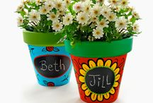 Flower pot ideas. Diy