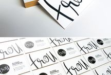 Design: Branding / by Phoebe Cater
