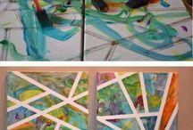 Atividades de pintura