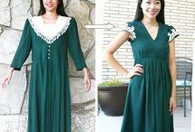 Old dress refashion