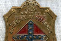 United Confederate Veterans Badges