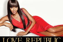Naomi Campbell  for Love Republic / Production by Andy Fiord Photo & Film Production