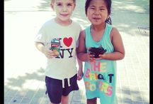 Cute Kids Around The World / It's no secret, kids love home exchanging and boy do they look cute while their doing it! Here's our collection of little Knoksters around the world!  / by Knok