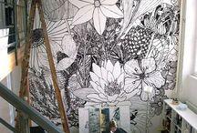 Murals ! / by Krystal Blade-Montgomery