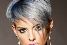 Short cut stylish hair